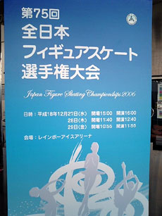 2006全日本選手権看板